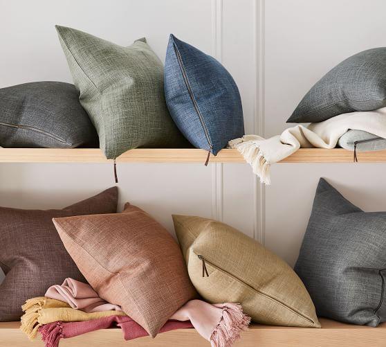 belgian linen throw pillows online