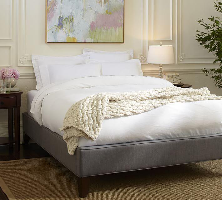 fillmore upholstered platform bed