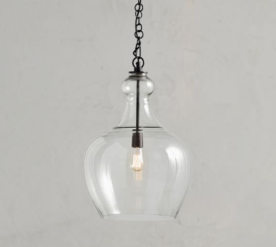 flynn recycled glass pendant