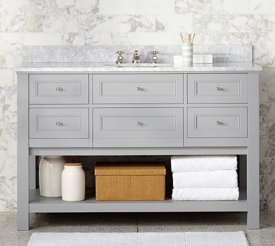 classic 55 single sink vanity