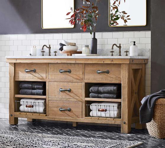 benchwright 72 double sink vanity