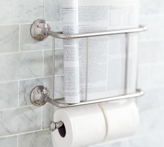 mercer magazine rack paper holder