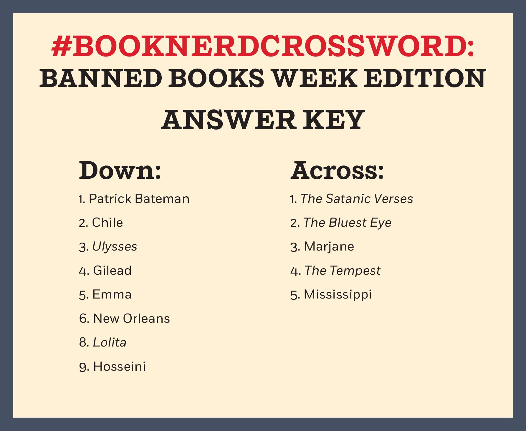 Science World Crossword Worksheet Answer Key