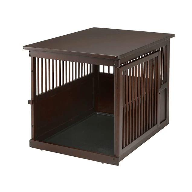 richell wooden end table pet crate 41 5 x 29 5 x 25 6