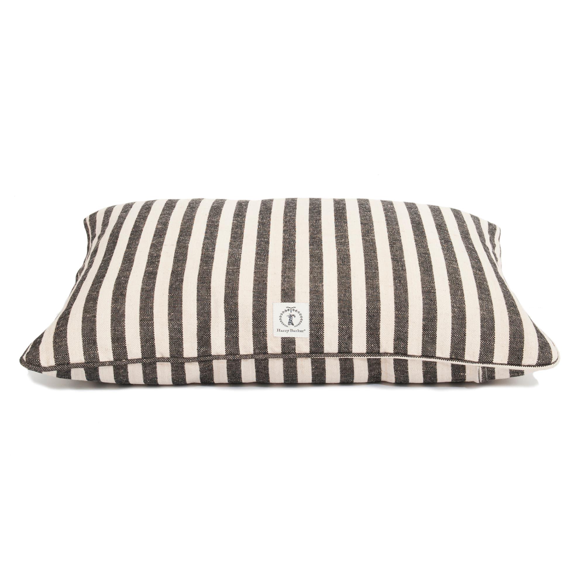 harry barker black vintage stripe envelope dog bed cover 30 l x 24 w