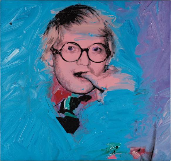 Andy Warhol David Hockney Phillips