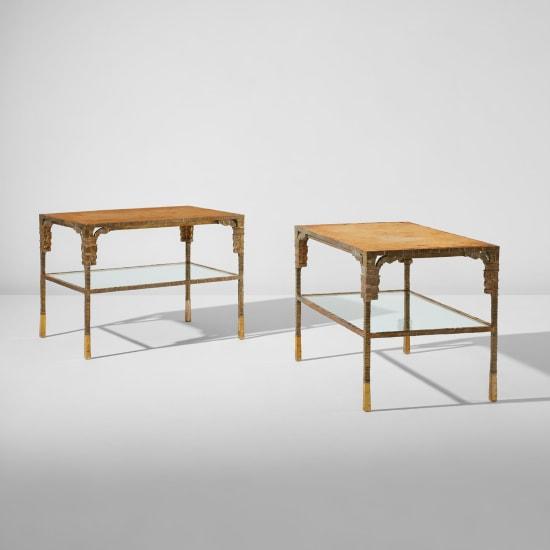 ingrid donat pair of table basse or