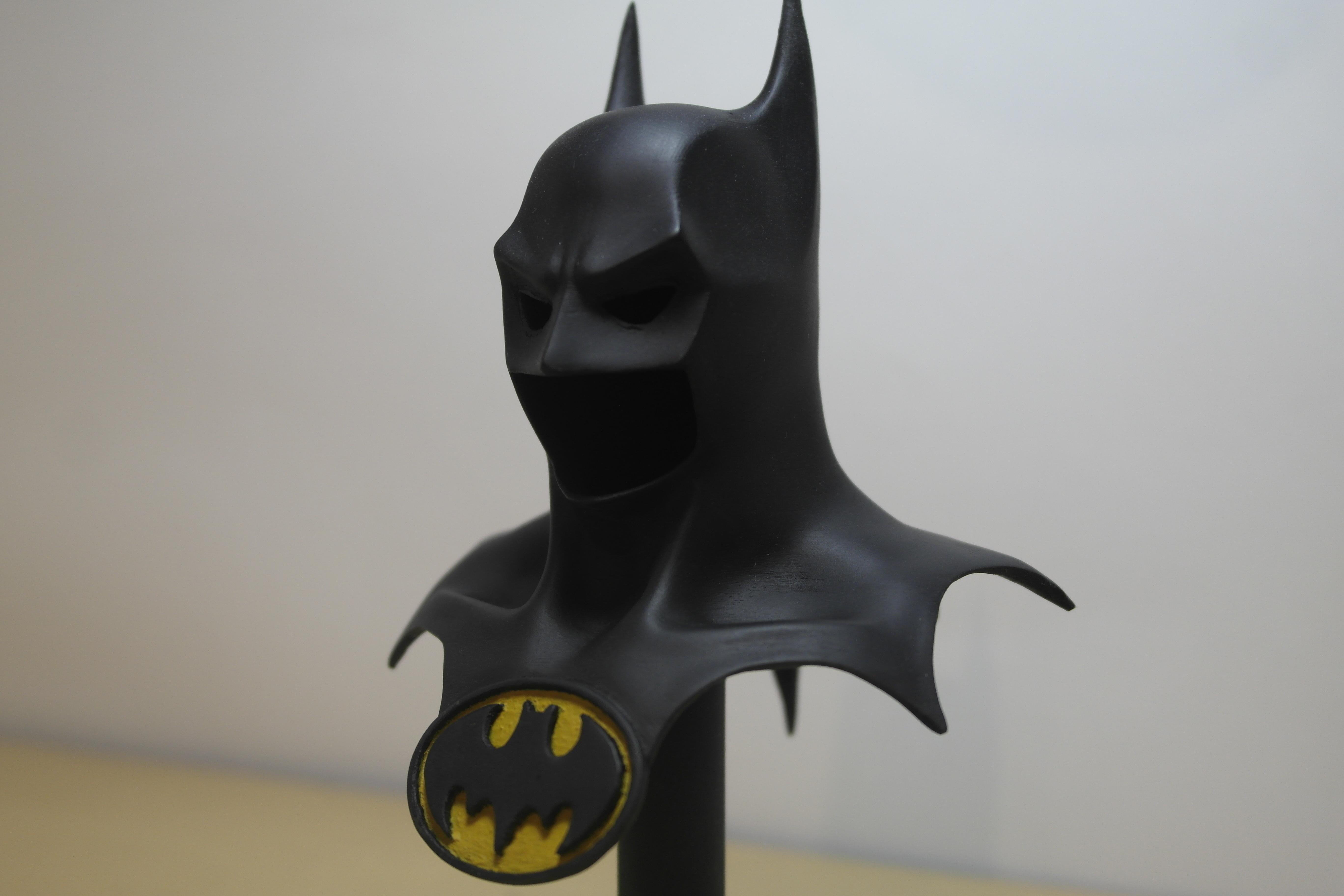 3d Printed Batman Mask By David Ruiz Pinshape