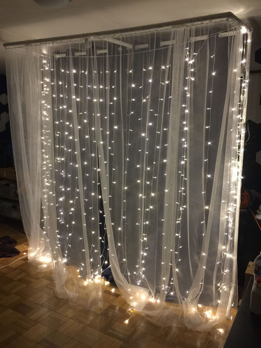 3d printed pvc backdrop joints by