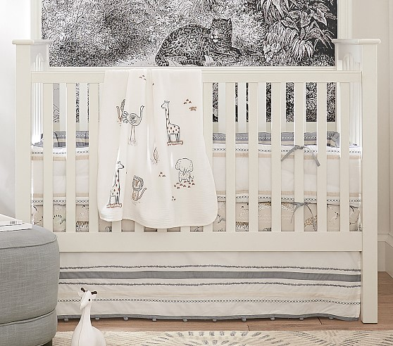 Rowan Crib Bedding Sets Pottery Barn Kids