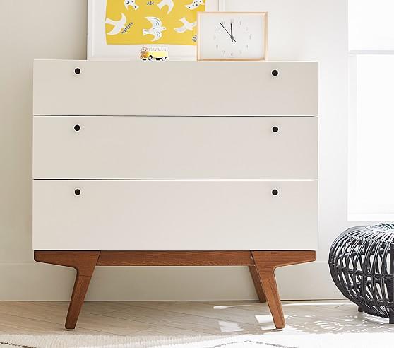 west elm x pbk modern 3 drawer dresser