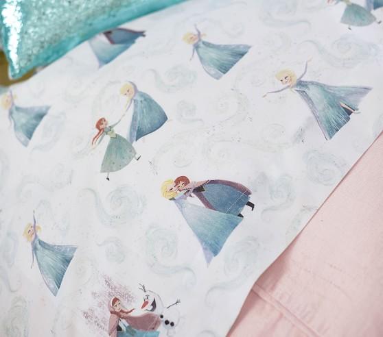 disney frozen organic sheet set pillowcases