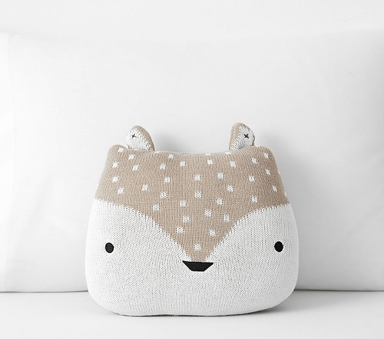 fox decorative pillow