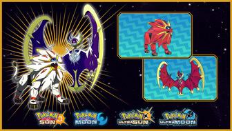 Discover Shiny Lunala or Shiny Solgaleo at GameStop
