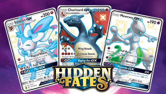 Lot of 18 charizard gx sm211 holo pokemon hidden fates black star promo cards. Shiny Pokémon and Rare Secret Cards from Pokémon TCG: Hidden Fates | Pokemon.com