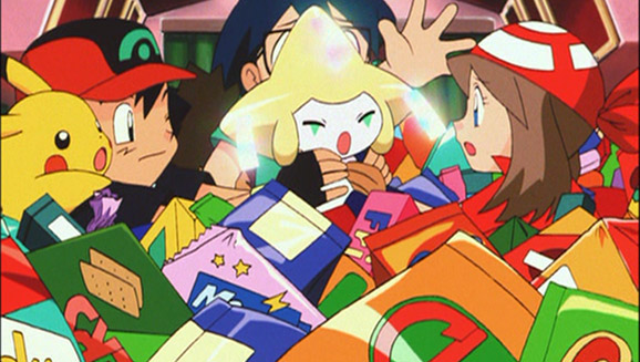 Image result for jirachi wish maker