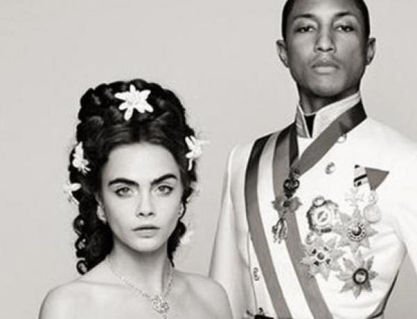 Cara Delevingne et Pharrell Williams : Duo de choc réuni pour Chanel !