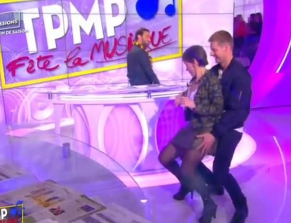 #TPMP: Incident culotte pour Isabelle Morini-Bosc lors d'un twerk endiablé avec Matthieu Delormeau