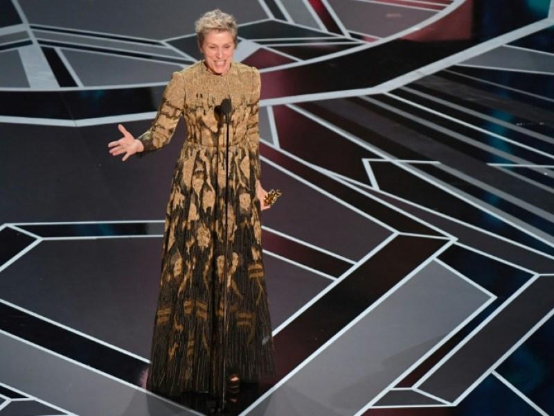 Frances McDormand décroche son 2e Oscar pour le rôle d'une mère en deuil et en colère