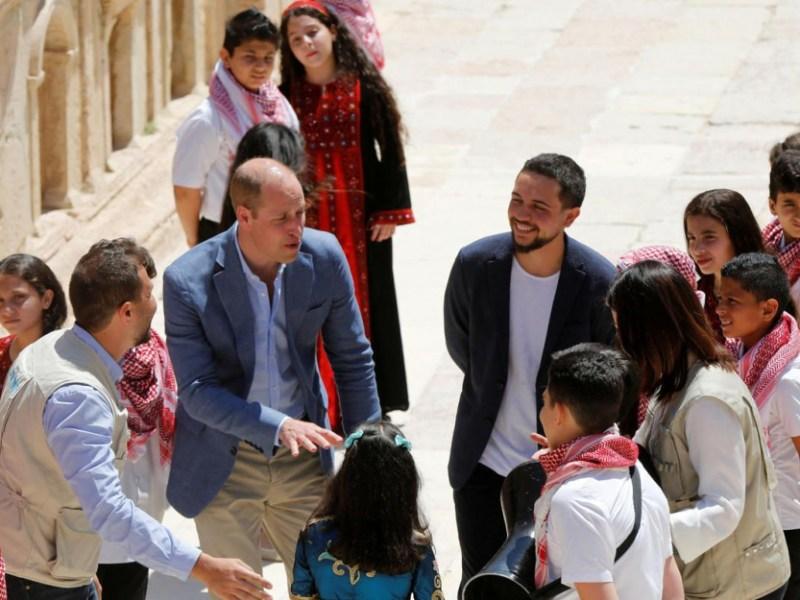 Le prince William en visite officielle en Jordanie : Pourquoi Kate Middleton est déçue