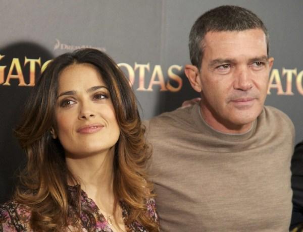 Salma Hayek voulait protéger Antonio Banderas de Harvey Weinstein