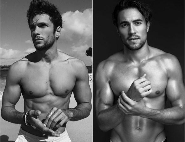 Alerte aux beaux gosses ! Hugo Philip et Olivier Dion torses nus sur un même cliché !