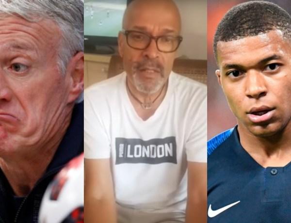 Le père de Thierry Henry se lâche sur Didier Deschamps et Kylian Mbappé