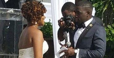 Illusion d'optique : elle se paie les fesses de Kim Kardashian lors de son mariage
