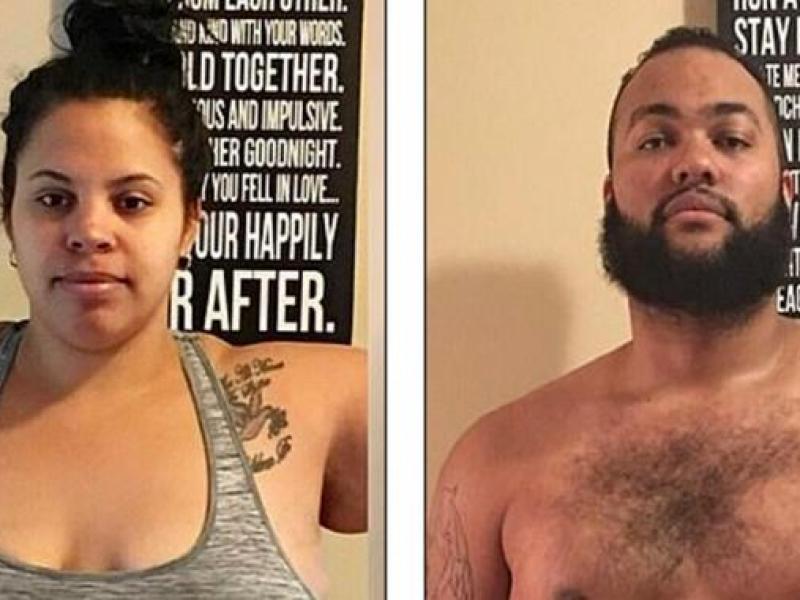 Un couple arrête de regarder Netflix et perd plus de 110 kilos