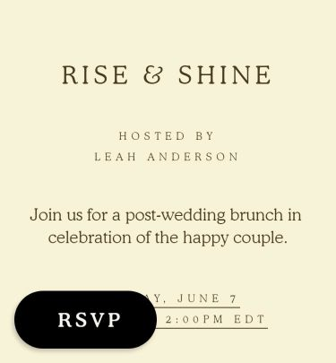 brunch invitations send online