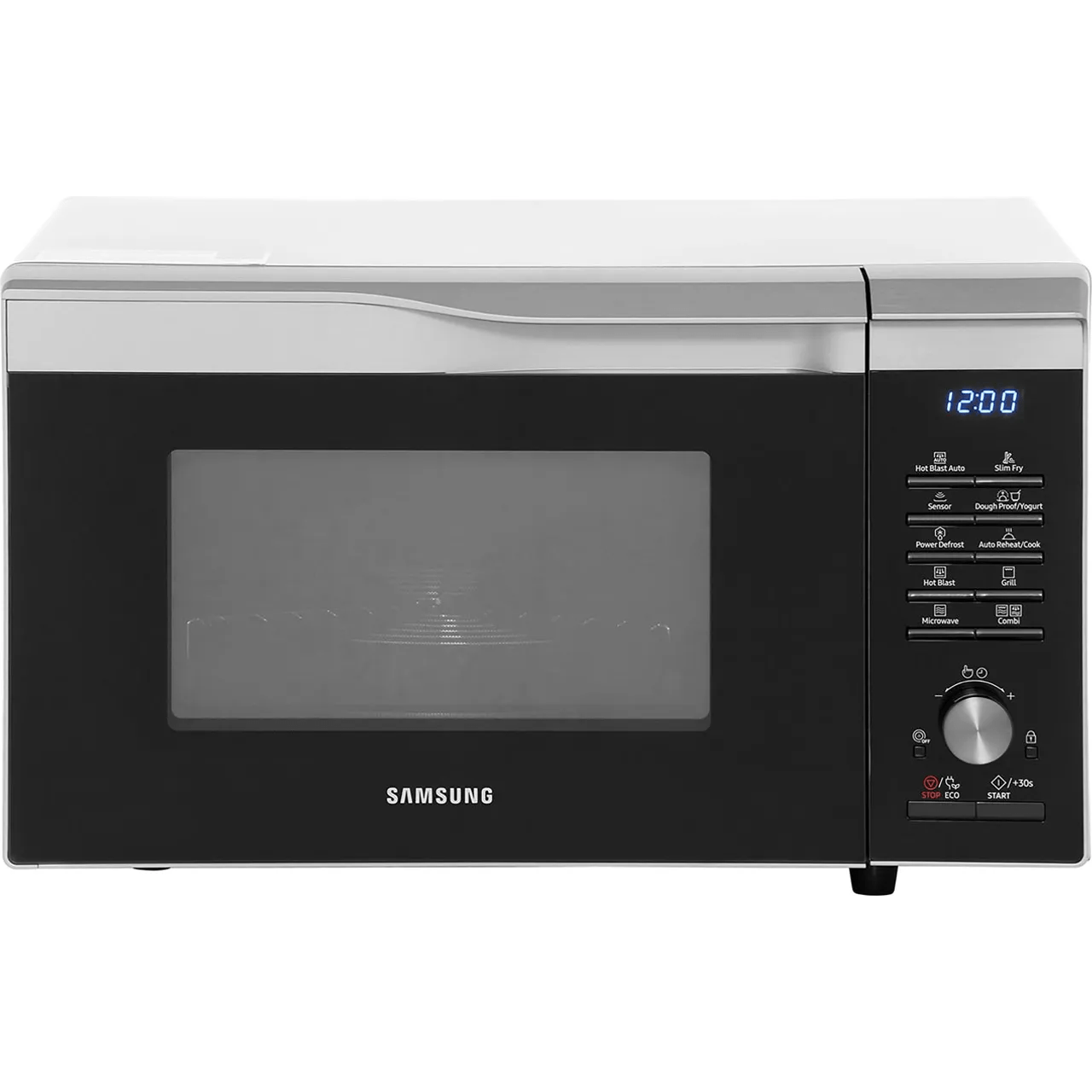 samsung easy view mc28m6075cs 28 litre combination microwave oven silver