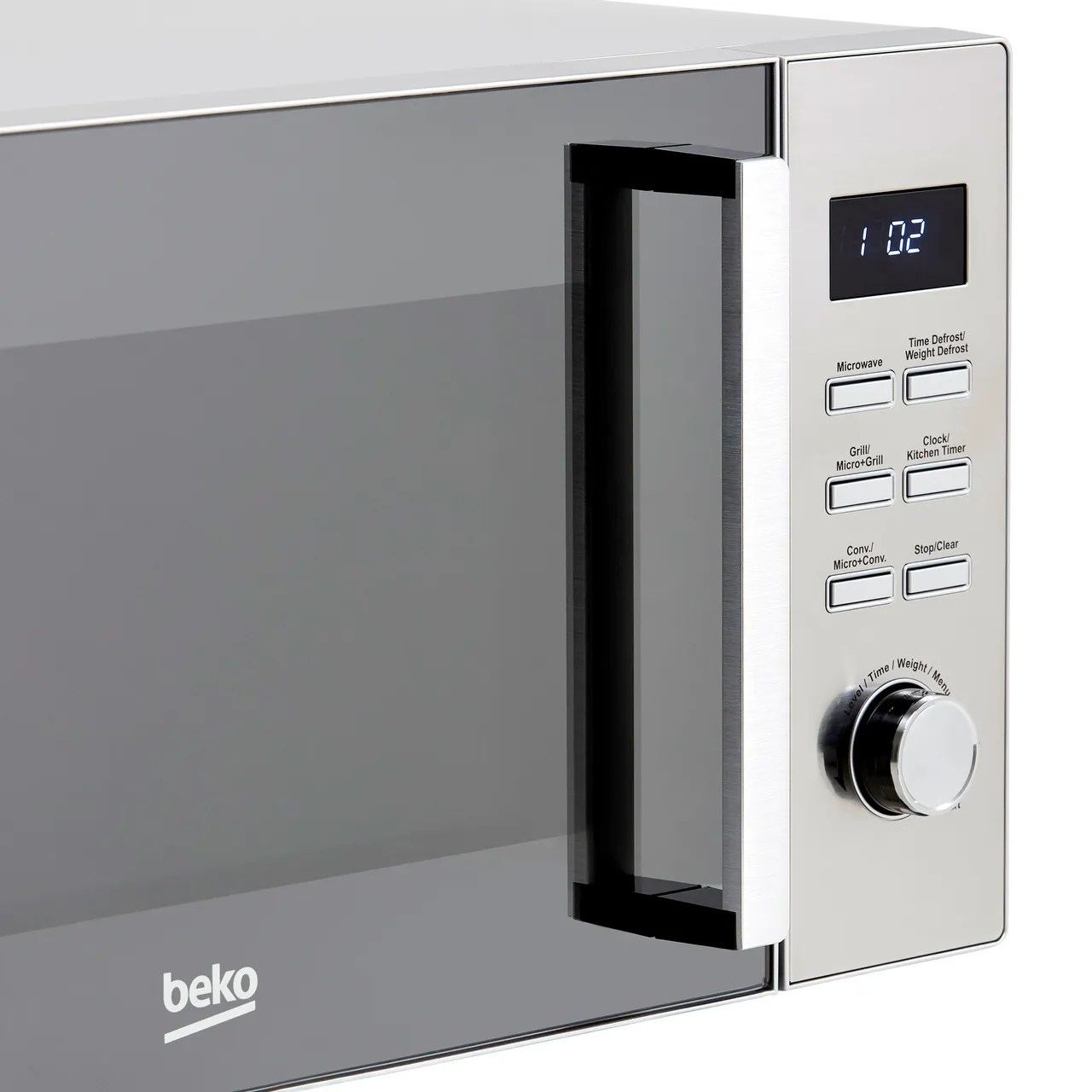 beko mcf32410x 32 litre combination microwave oven stainless steel