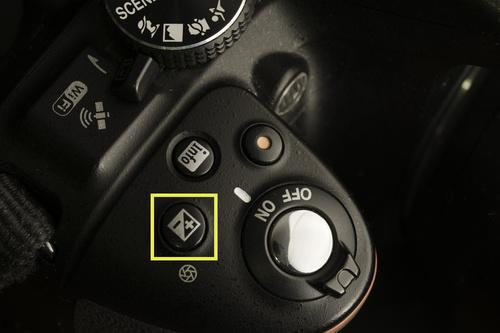 Экспокоррекция вносится кнопкой с таким значком