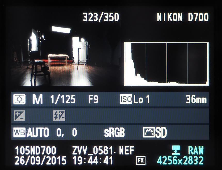 как настроить фотоаппарат для съемки в студии физической культуры