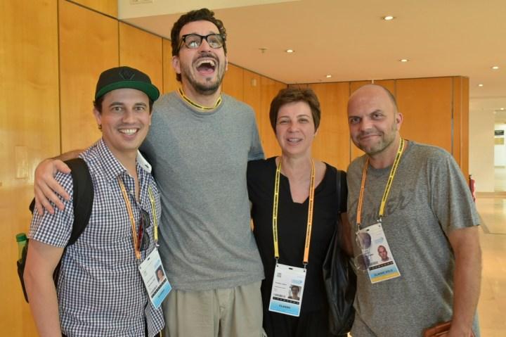 Lucas Oliveira (DDB), Rui Branquinho, Cristina Lopes (Conspiração), Guime Davidson (WMccann))