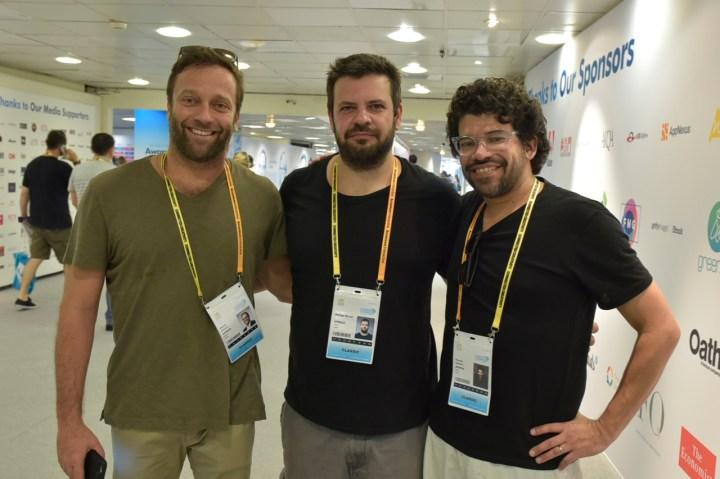 Márcio Santoro (Africa), Rodrigo Marghi (Africa), Ricardo Figueira (Africa)