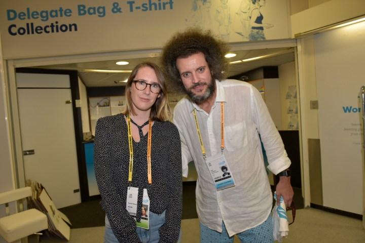 Sarah Owen (WGSN), Hugo Rodrigues (Publicis)