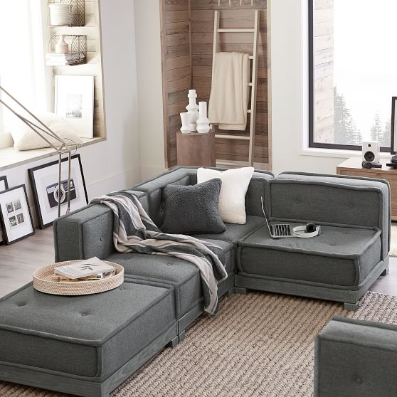 cushy lounge super sectional set