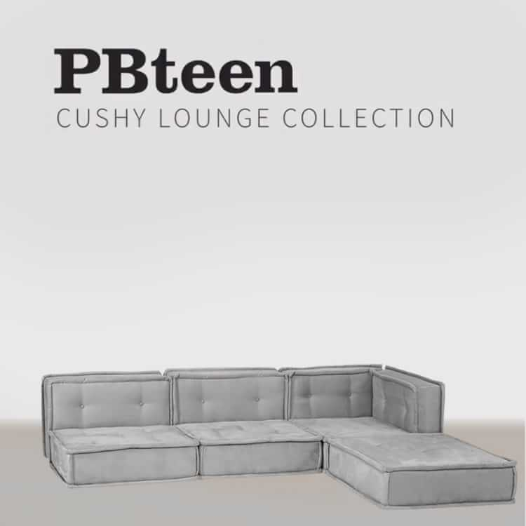 build your own cushy sectional