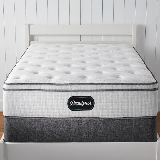 beautyrest plush pillow top mattress