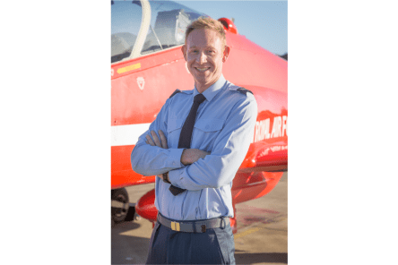 Corporal Jonathan Bayliss, Aircraft Technician, RAF Acrobatic Team (the Red Arrows).