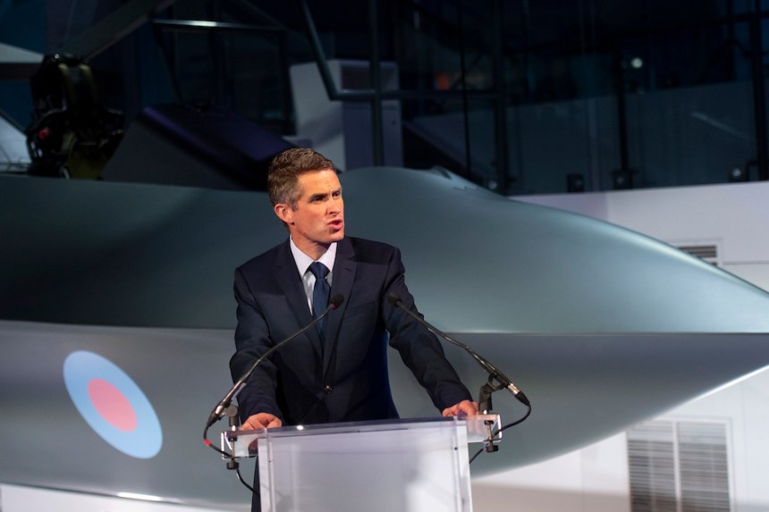 Defence Secretary launches Combat Air Strategy at Farnborough International Air Show.