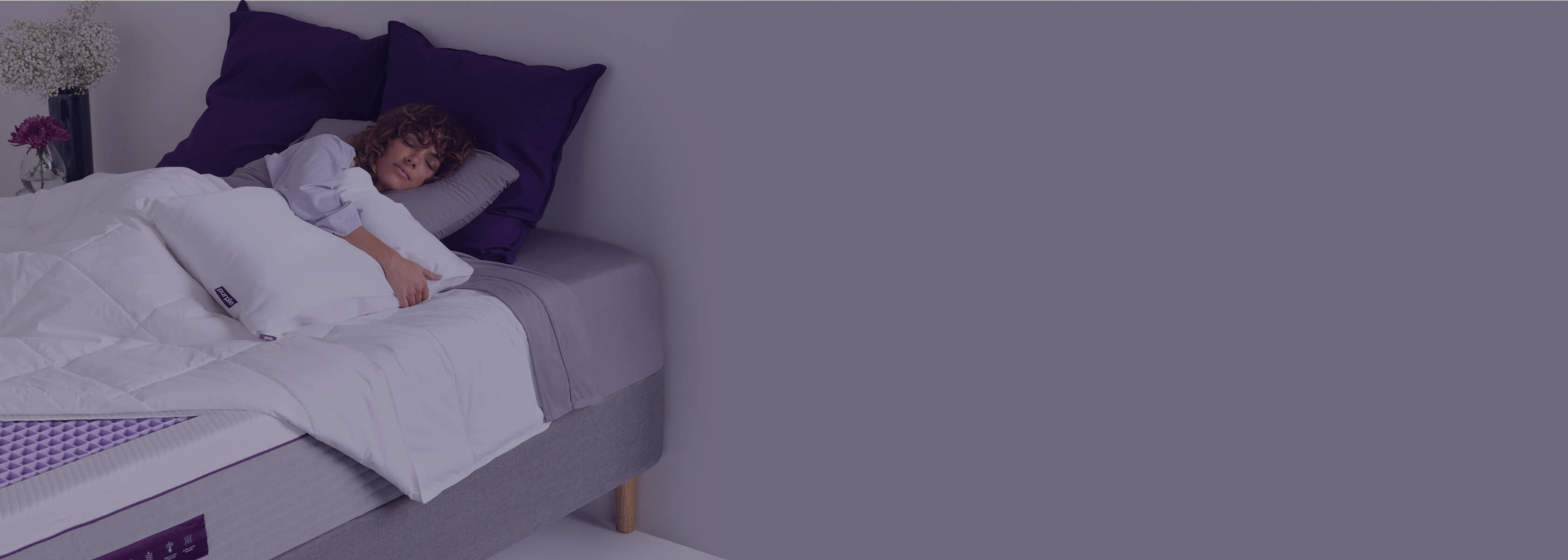 the purple pillow boosters