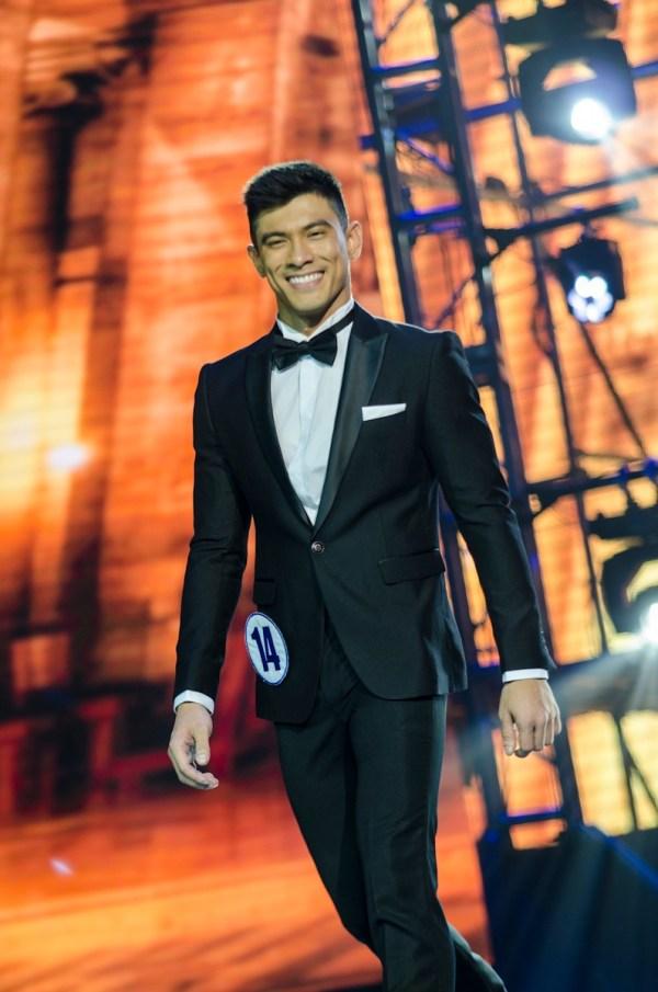 Who is JB Saliba, Mr World Philippines 2018?
