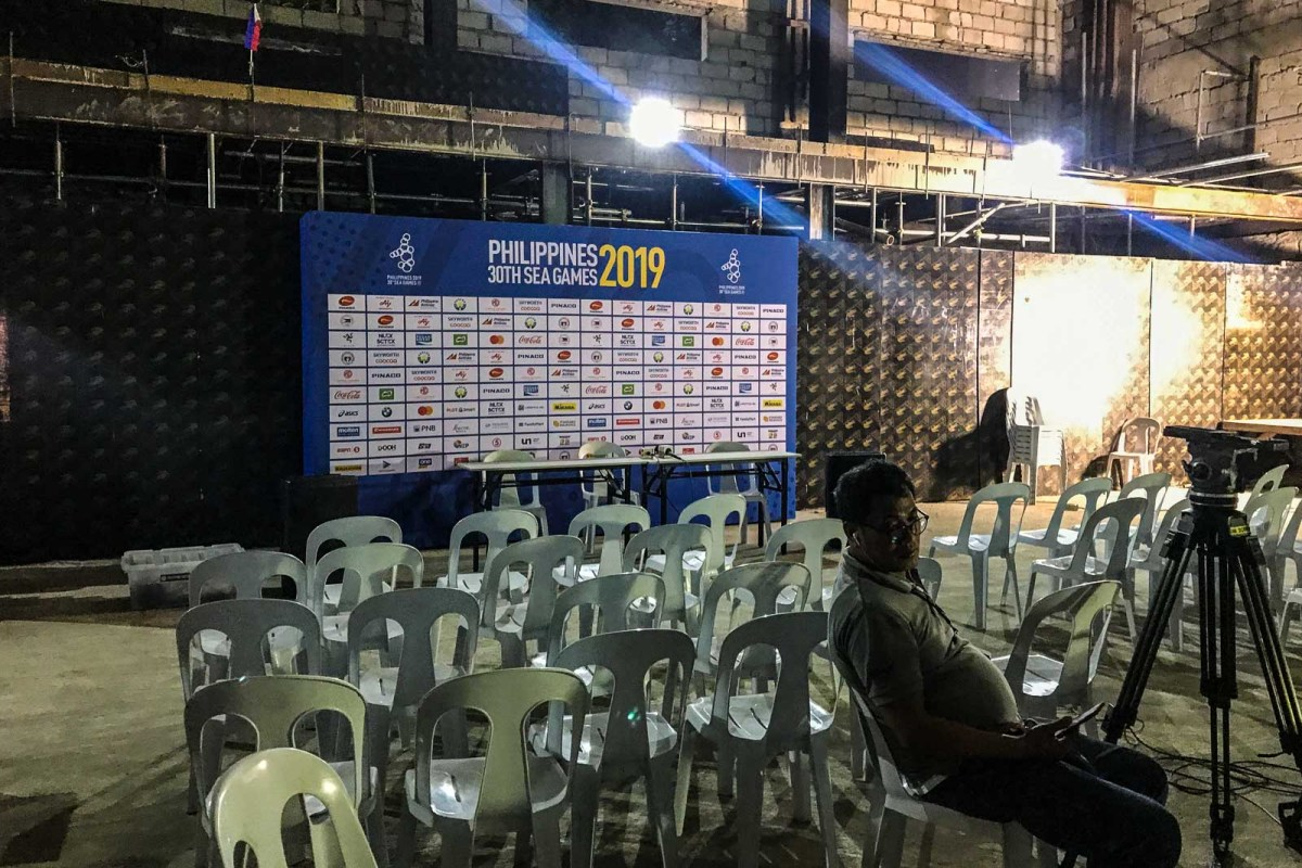 Image result for unfinished sea games press media center