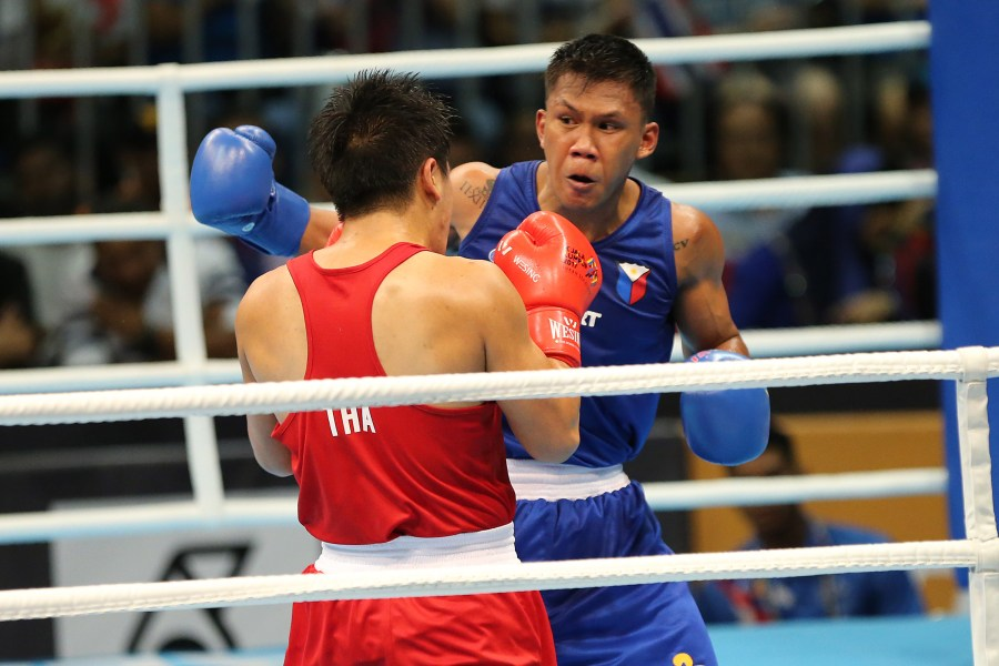 Marcial wins middleweight boxing gold at 2017 SEA Games  Fernandez     Marcial wins middleweight boxing gold at 2017 SEA Games  Fernandez settles  for silver
