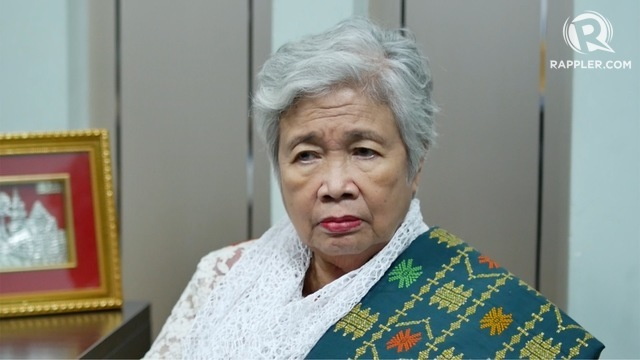 DEBT DILEMMA. Education Secretary Leonor Briones explains the urgent need for teachers to pay off their debts from the GSIS and Pag-IBIG Fund. Screenshot by Rappler