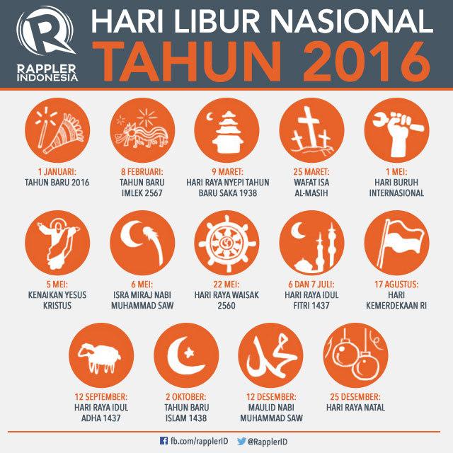 Libur Nasional 2016