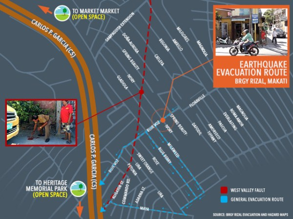How Makati village along fault line prepares for the 'Big One'