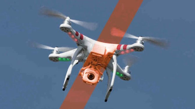 NO DRONES. CAAP issues a warning against using drones during the Apostolic Visit of Pope Francis.